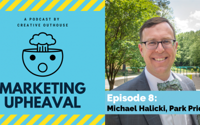 Michael Halicki on communications professionals leading nonprofits and marketing parks.