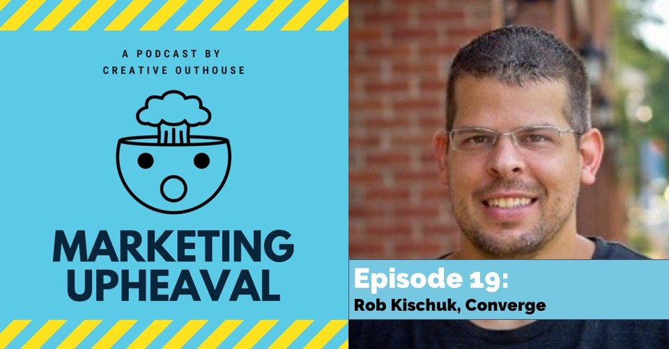 Rob Kischuk, podcast host and CEO of Converge