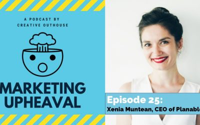Xenia Muntean, Founder & CEO of Planable